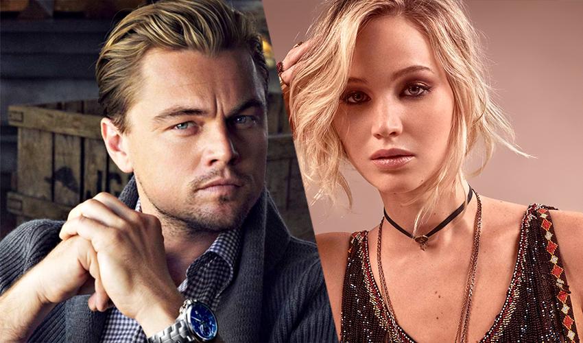 Leonardo DiCaprio e Jennifer Lawrence aparecem nas primeiras fotos do set de Don't Look Up