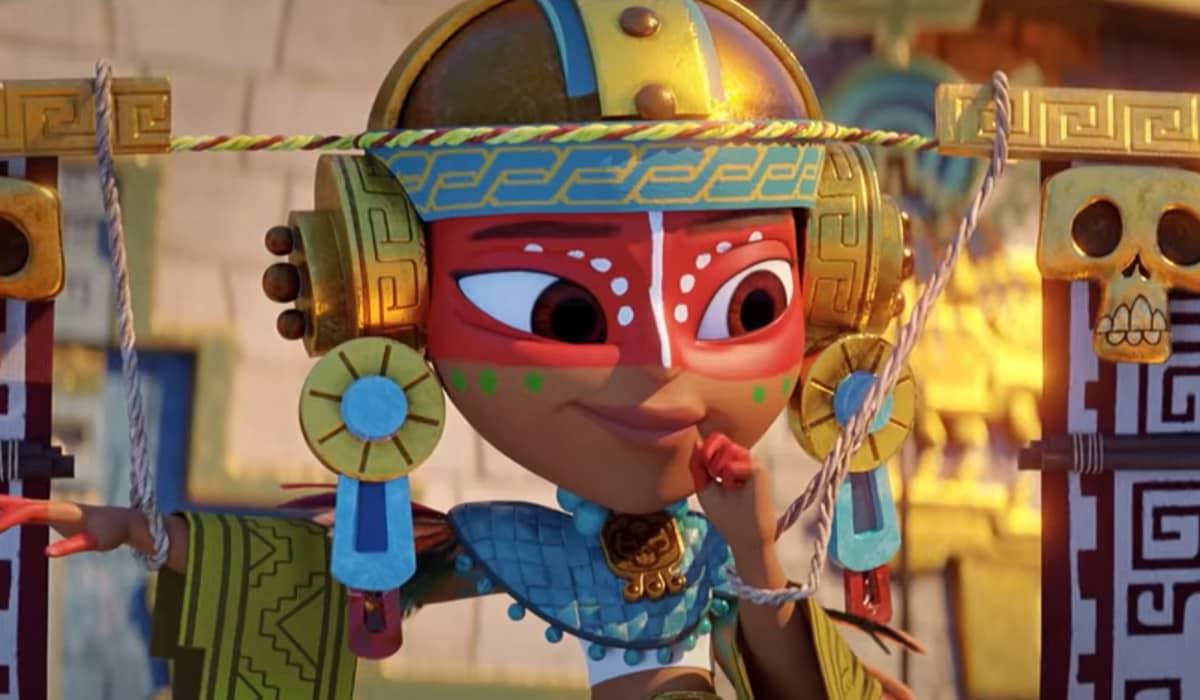 Maya e os 3 Guerreiros, animação que celebra a cultura indígena, ganha teaser pela Netflix