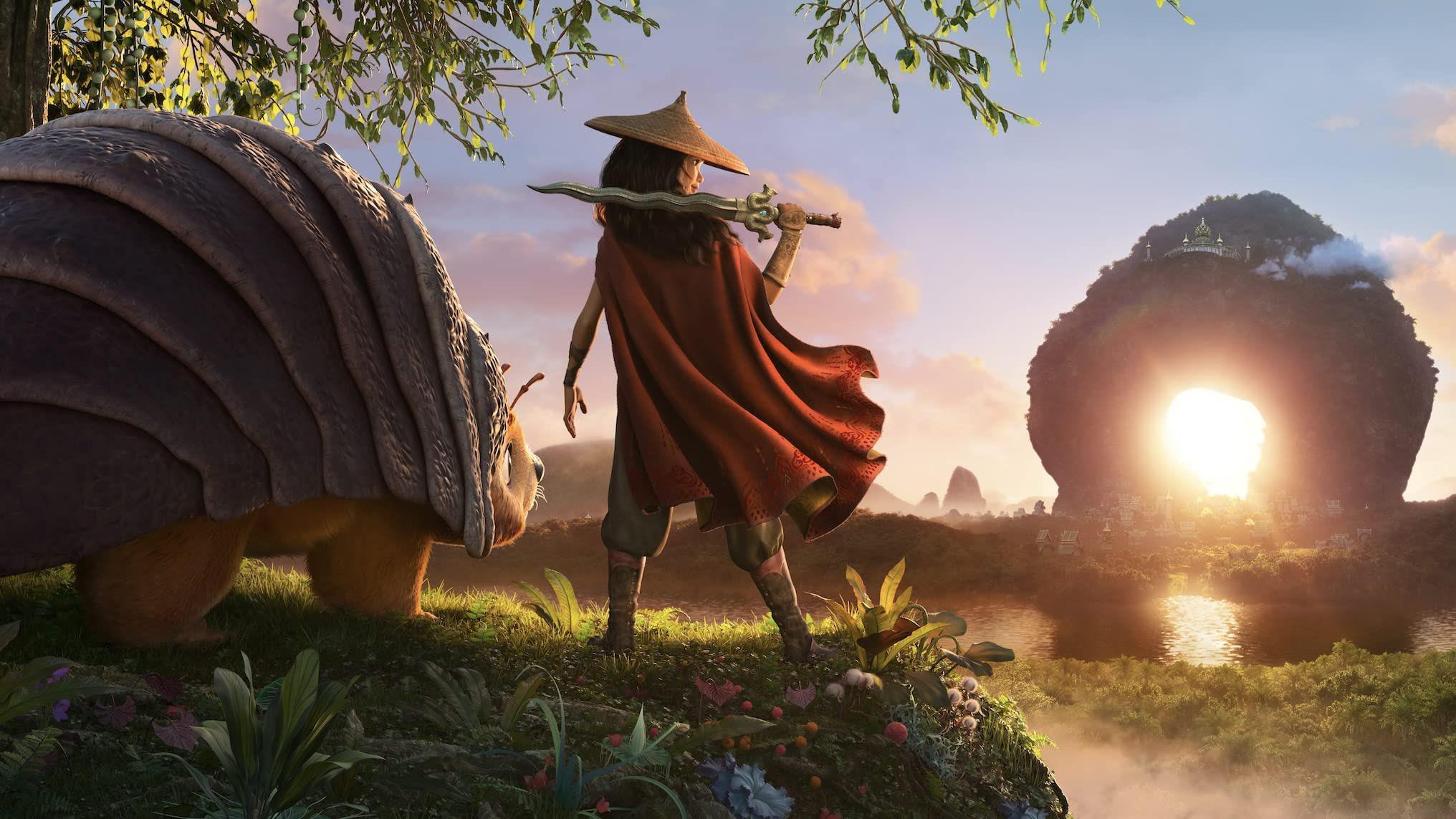 Raya e o Último Dragão ganha novo trailer cheio de aventura