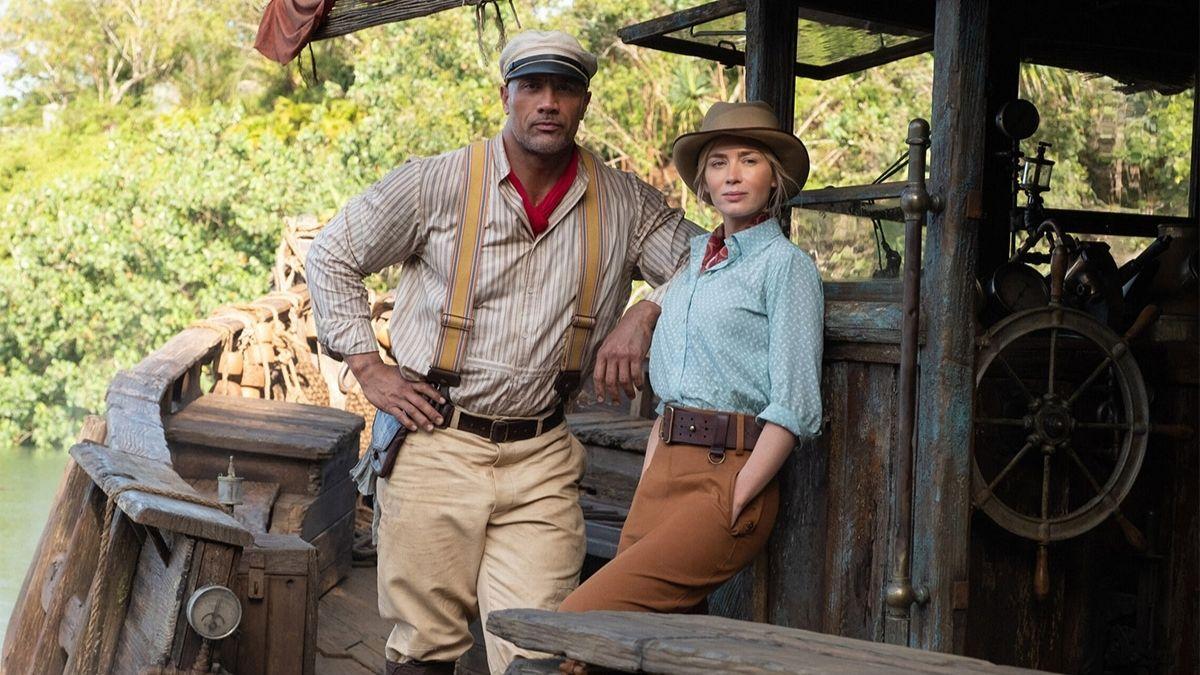 Dwayne Johnson e Emily Blunt partem em aventura no novo trailer de Jungle Cruise
