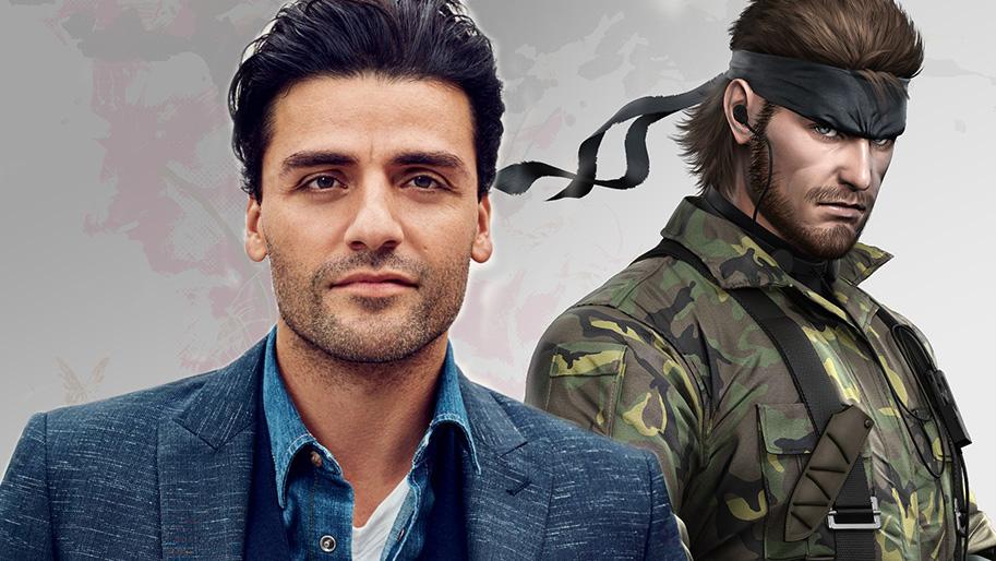 Filme de Metal Gear Solid terá Oscar Isaac como Solid Snake