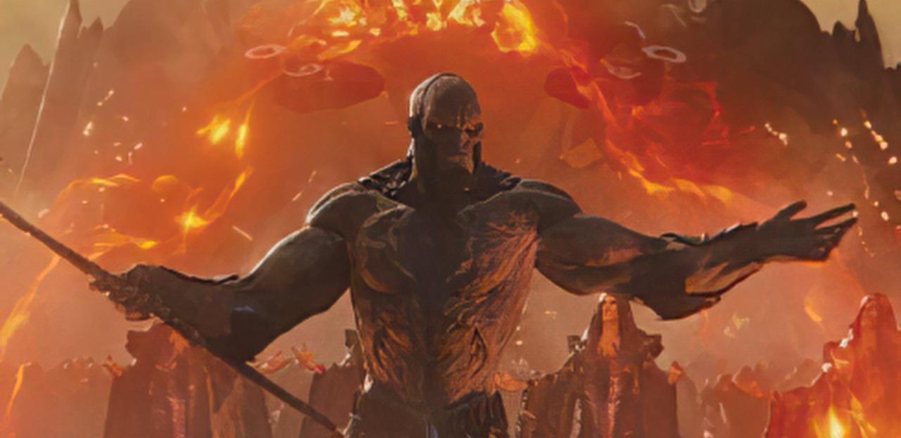Novas imagens de Darkseid e Lobo da Estepe no Snyder Cut são reveladas