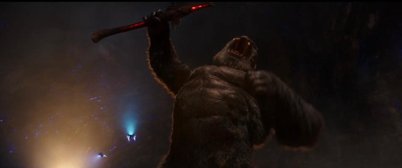 Trailer de Godzilla vs. Kong quebra recorde de visualizações na Warner