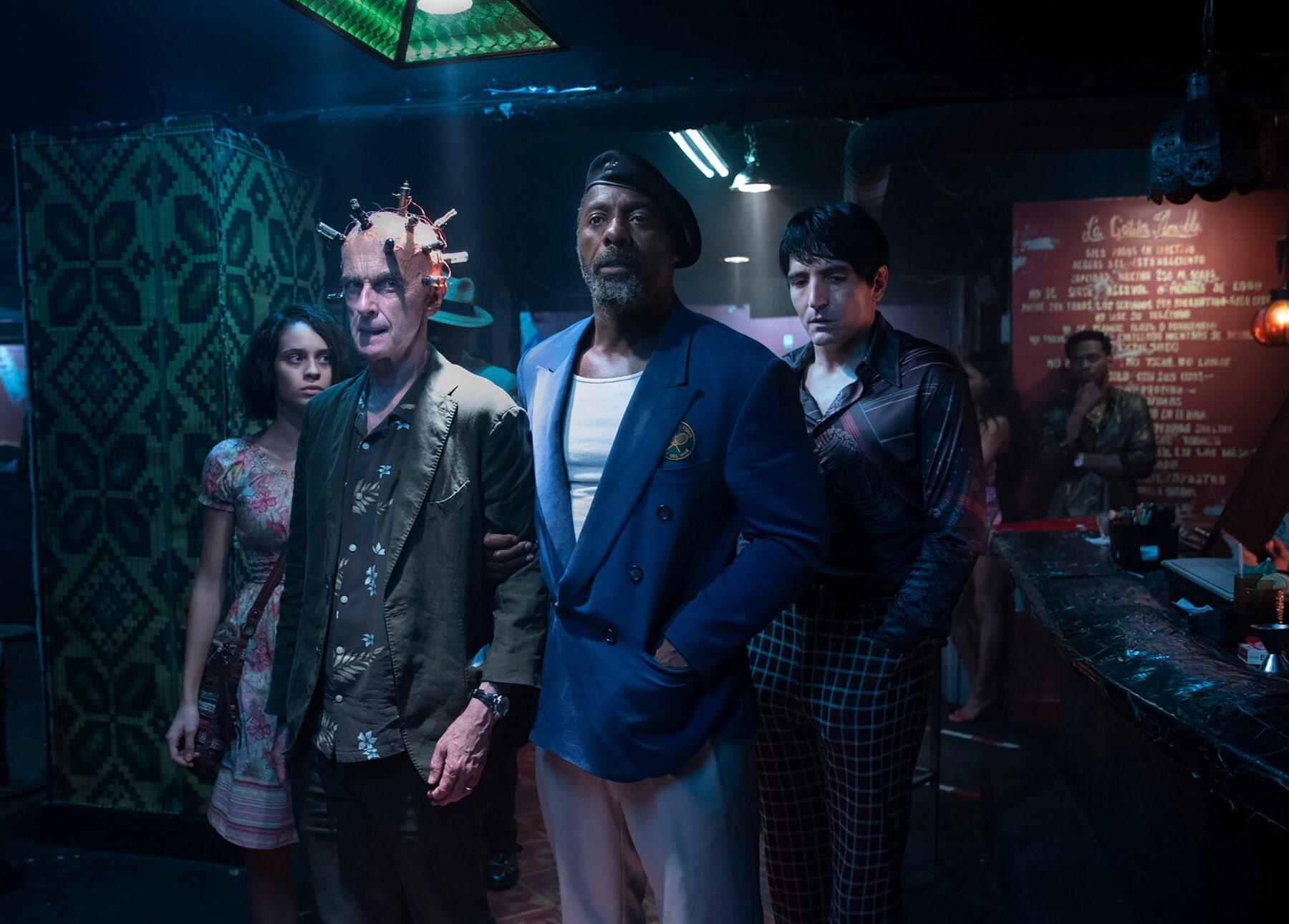 O Esquadrão Suicida destaca personagens de Idris Elba e Peter Capaldi em nova imagem