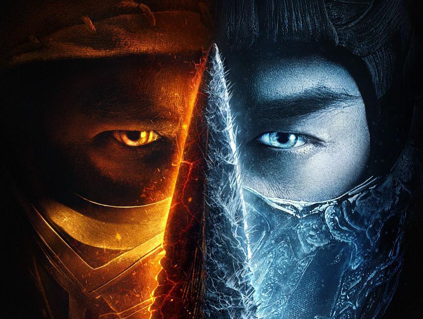 Mortal Kombat ganha novo pôster estampando Scorpion e Sub-Zero