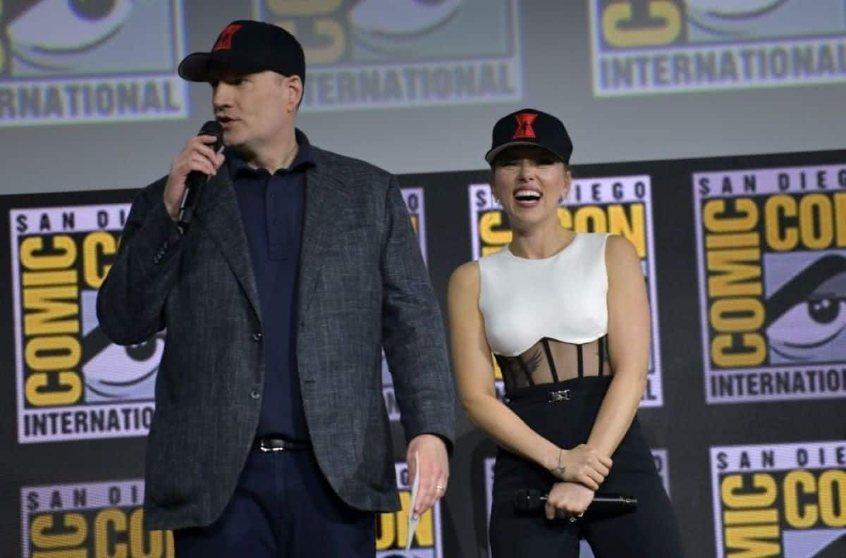 Kevin Feige está frustrado com a Disney por conta do processo de Scarlett Johansson, diz jornalista