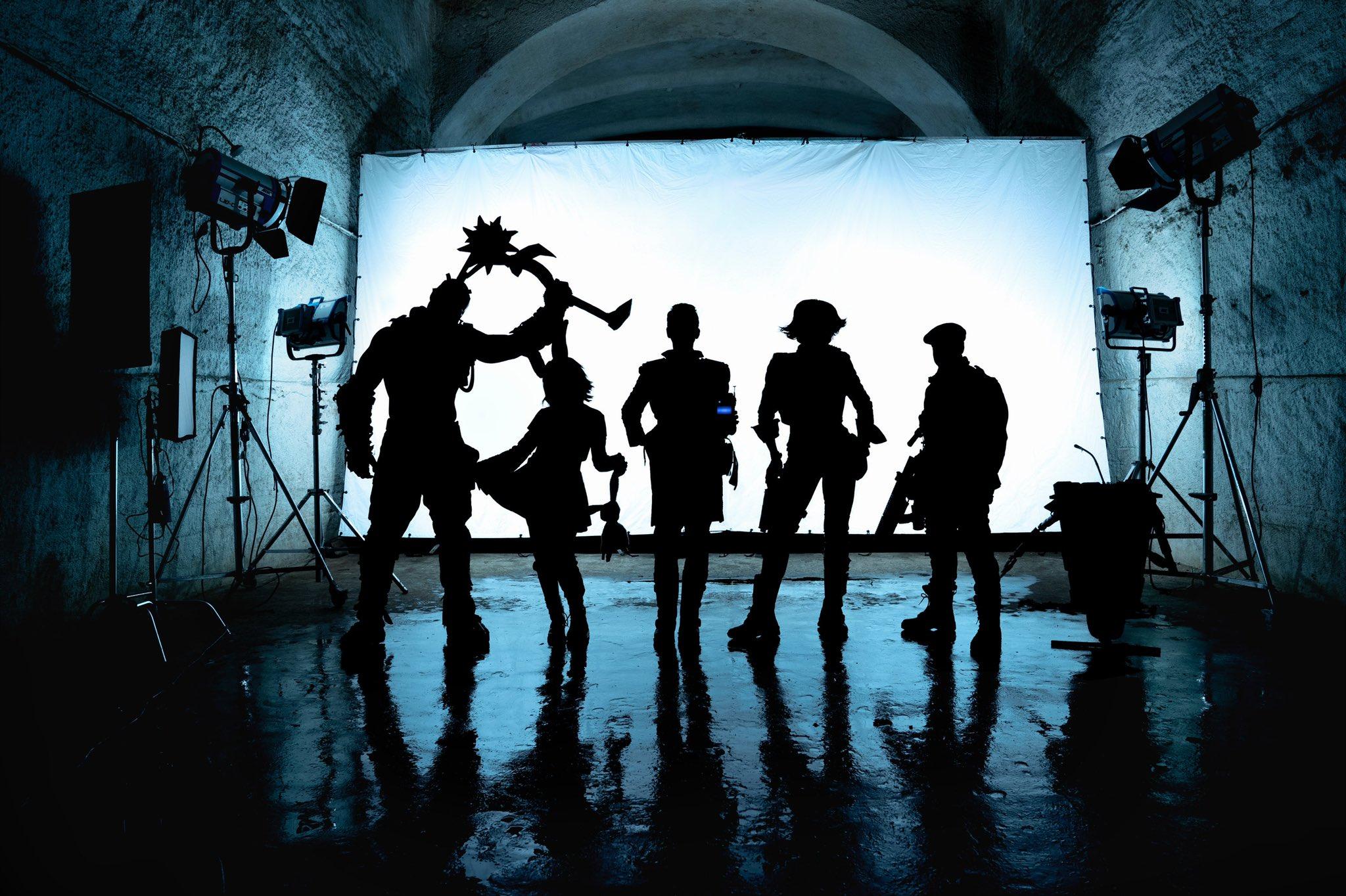Borderlands reúne todos os personagens em foto dos bastidores do filme