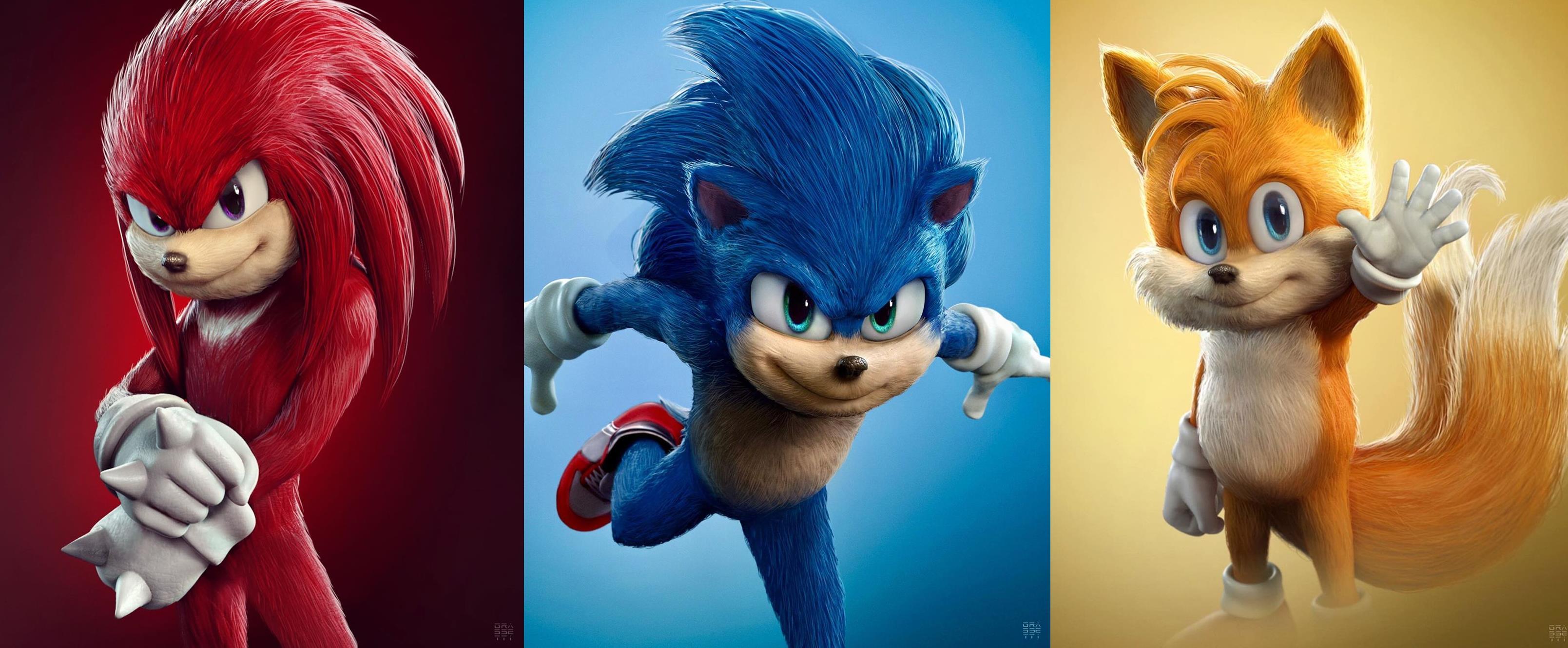 Sonic - O Filme 2 colocará Knuckles como vilão, revela sinopse
