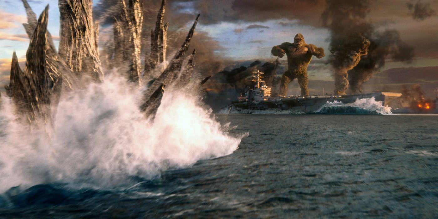 Clipe de Godzilla vs. Kong mostra primeiro encontro entre os monstros