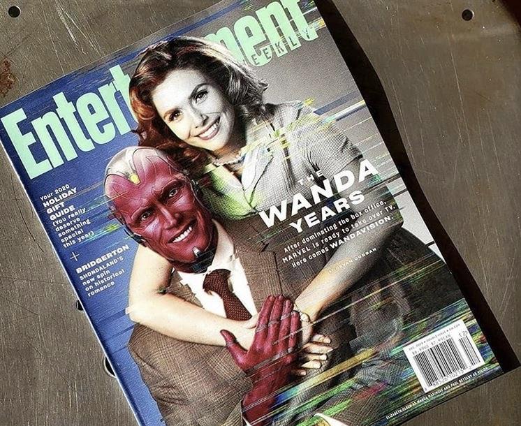 WandaVision estampará capa da Entertainment Weekly