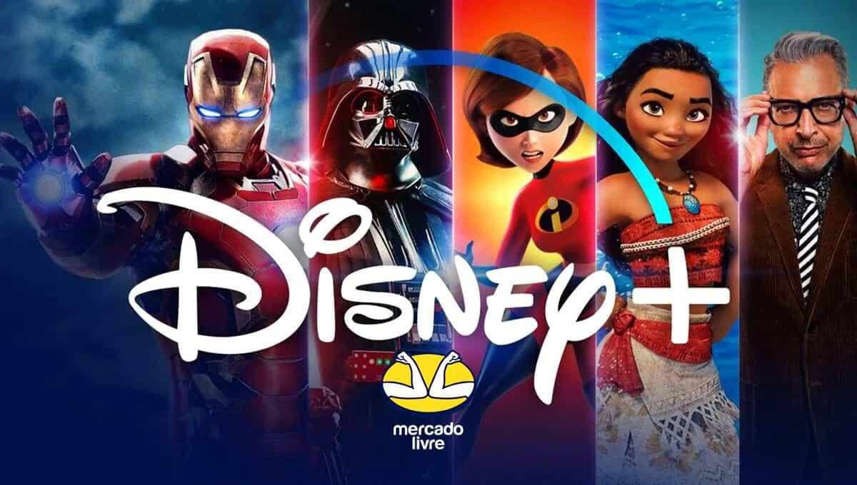 Mercado Livre disponibiliza seis meses gratuitos do Disney+ aos seus usuários