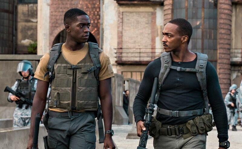 Zona de Combate, filme com Anthony Mackie na Netflix, ganha novo trailer