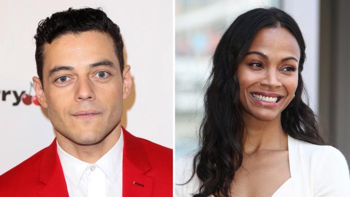 Rami Malek e Zoe Saldana se juntam ao elenco de novo filme de David O. Russell