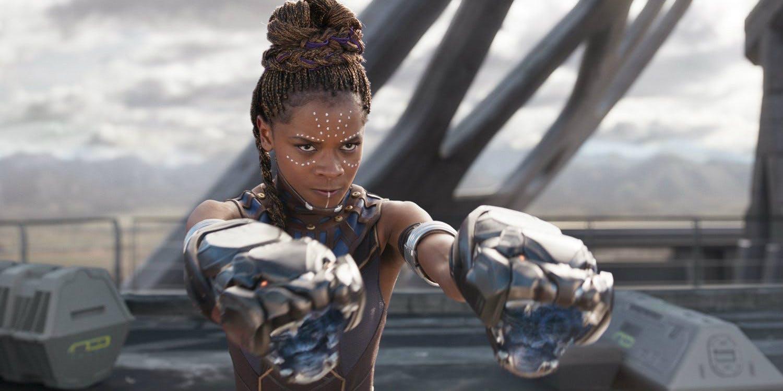 Letitia Wright diz que seria estranho continuar Pantera Negra sem Chadwick Boseman