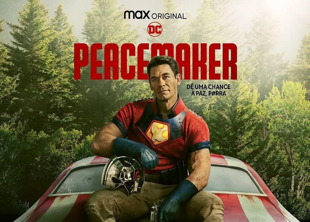 Pacificador   John Cena estampa novo pôster da série do HBO Max