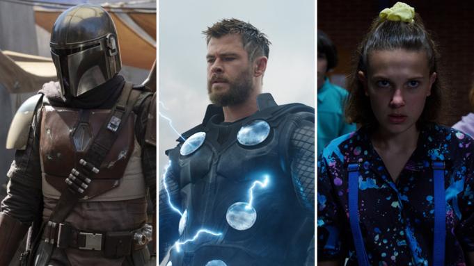 The Mandalorian, Vingadores e Stranger Things são as principais franquias de entretenimento, aponta pesquisa