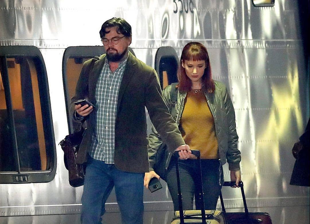 Leonardo DiCaprio e Jennifer Lawrence aparecem em novas fotos do set de Don't Look Up