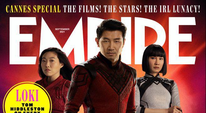 Shang-Chi e a Lenda dos Dez Anéis é destaque nas novas capas da revista Empire