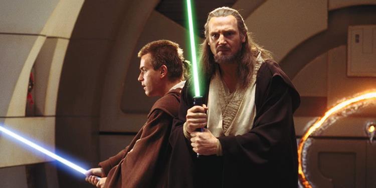 Liam Neeson diz que toparia voltar a Star Wars como Qui-Gon Jinn na série de Obi-Wan Kenobi