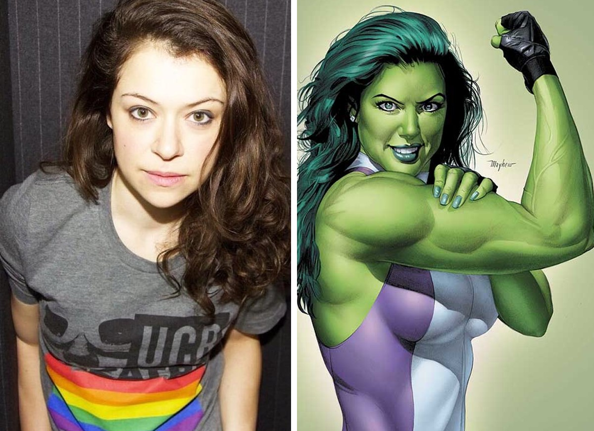 Série da She-Hulk será estrelada por Tatiana Maslany, Mark Ruffalo e Tim Roth estão no elenco