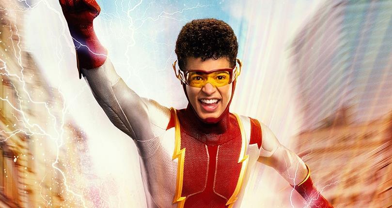 The Flash revela visual de Jordan Fisher como Impulso, filho de Barry e Iris