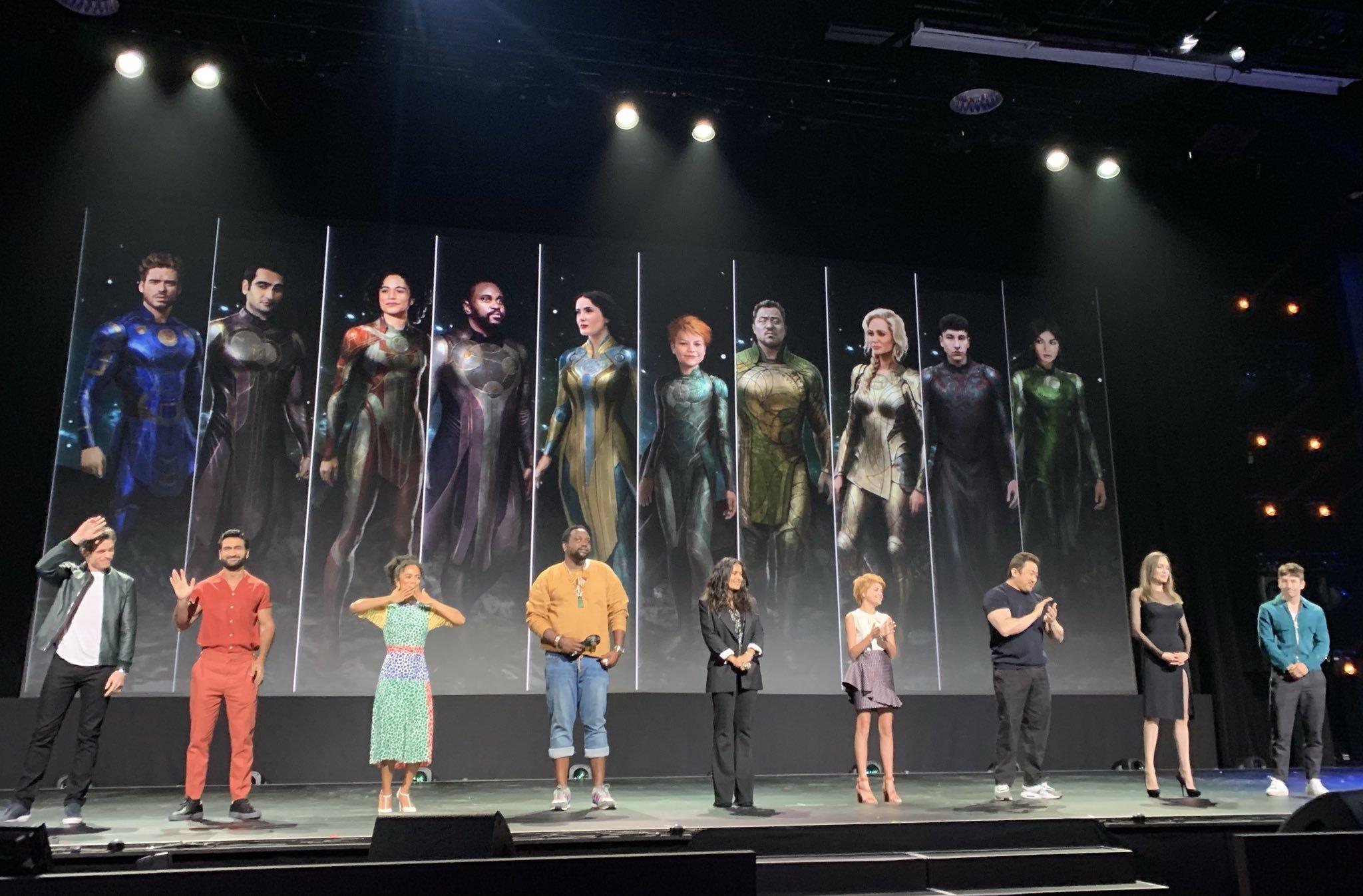 Kevin Feige revela quem será a protagonista de Eternos