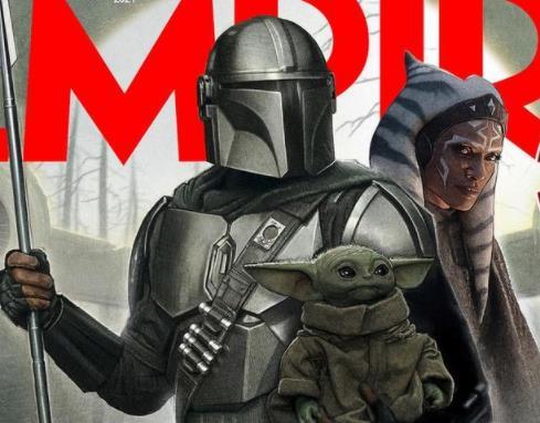Mando, Ahsoka e Baby Yoda estampam capa da revista Empire