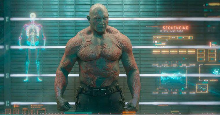 Dave Bautista diz que não há chances de fazer uma série do Drax na Disney+