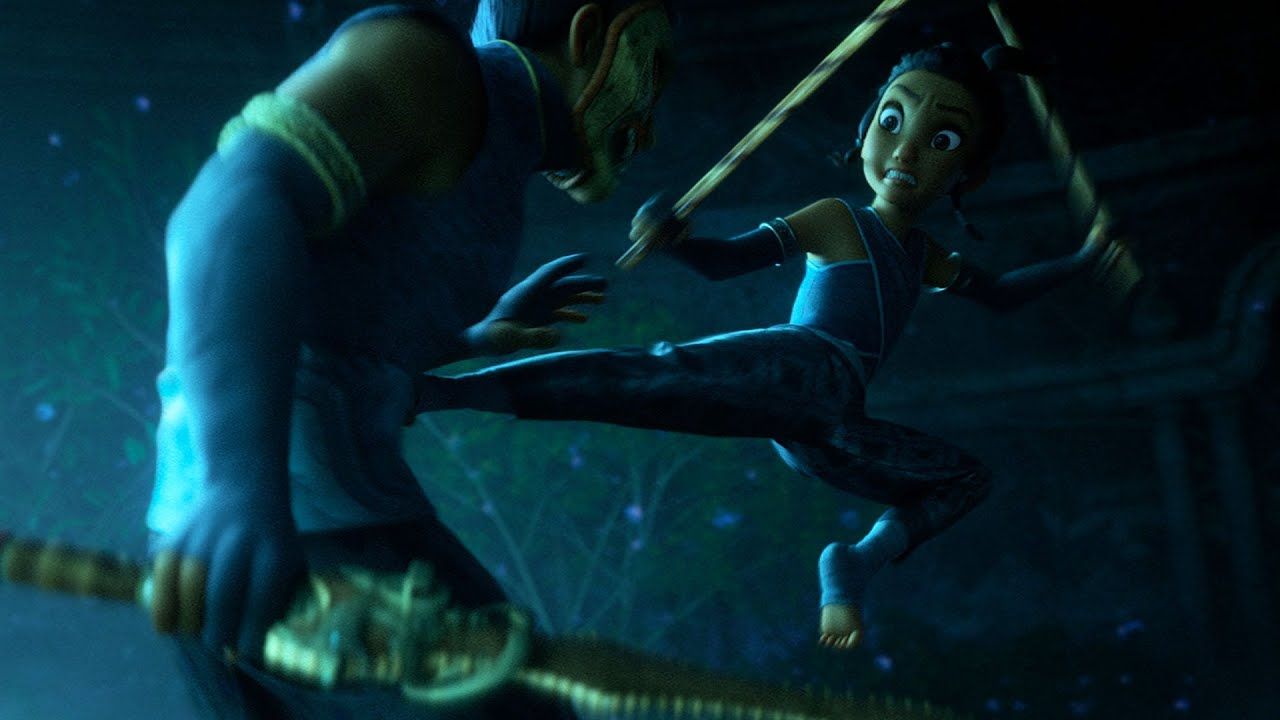 Teaser de Raya e o Último Dragão dá prévia da música tema do filme