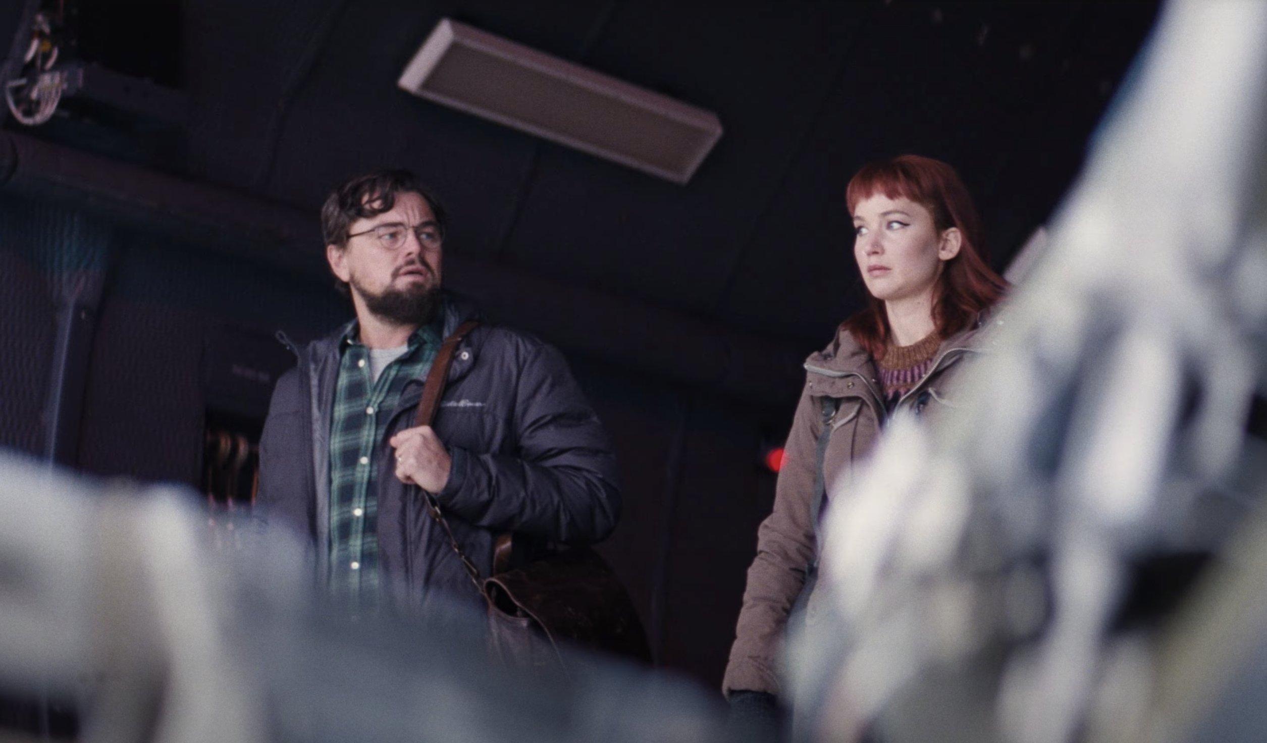 Netflix divulga trailer com seus principais filmes de 2021, incluindo Don't Look Up com DiCaprio e Jennifer Lawrence