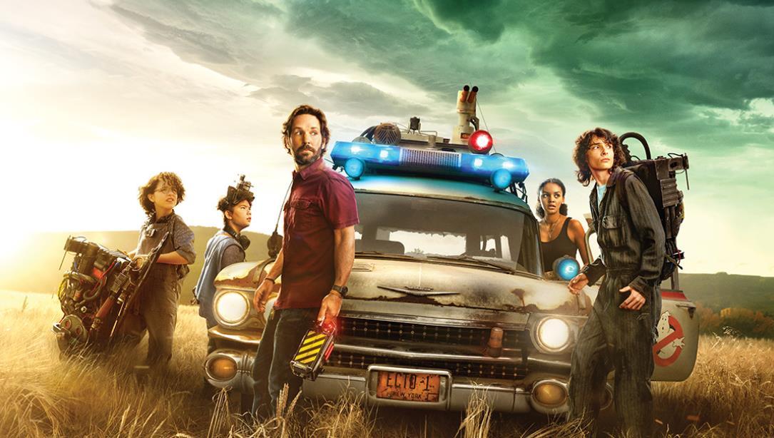 Ghostbusters: Mais Além ganha dois pôsteres destacando o elenco