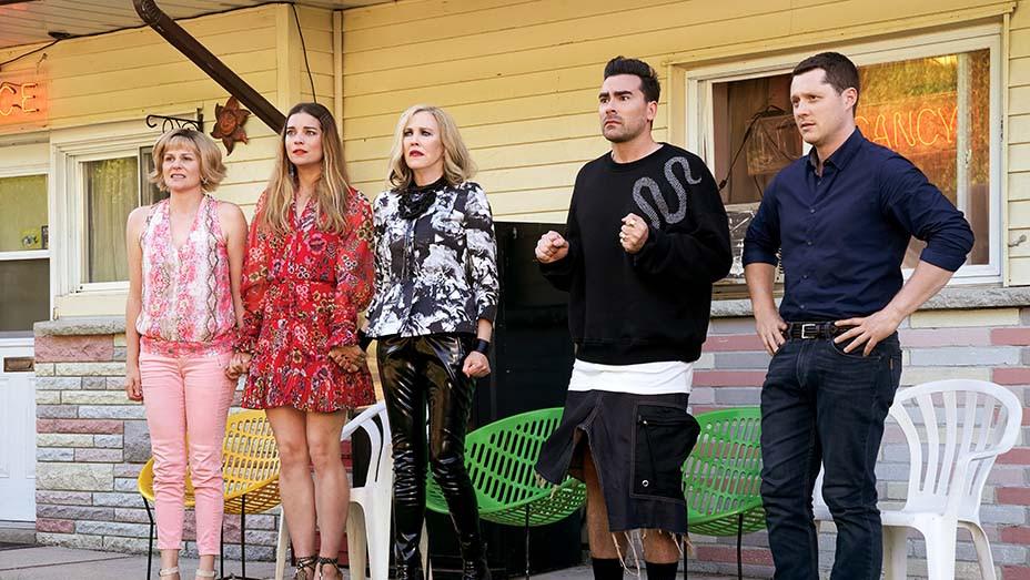 Schitt's Creek quebra recorde no Emmy 2020