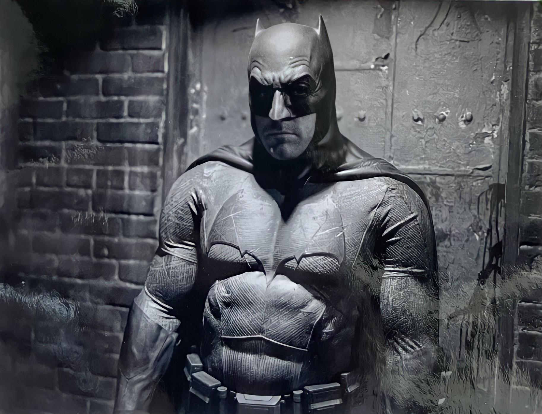 Zack Snyder revela nova foto de Ben Affleck como Batman nos bastidores de Liga da Justiça