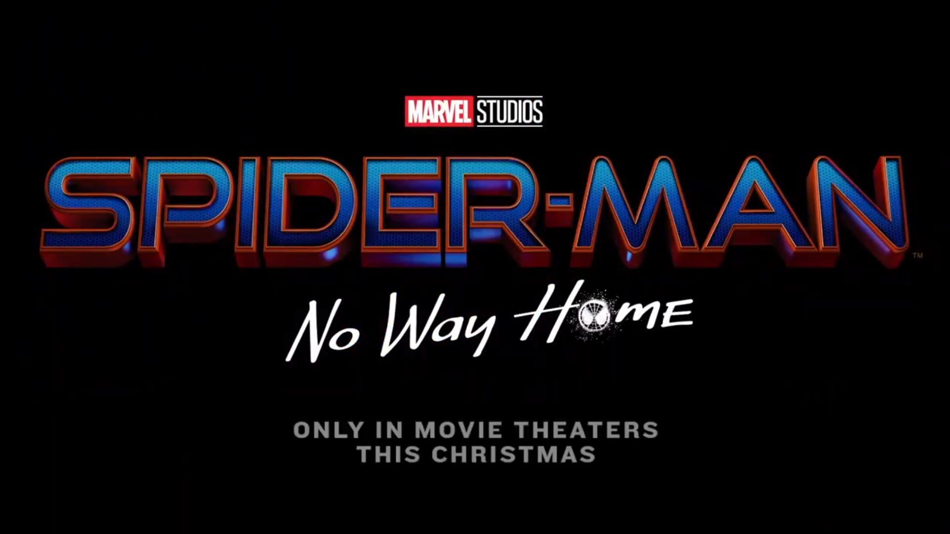 Spider-Man: No Way Home é o título do novo filme do Homem-Aranha