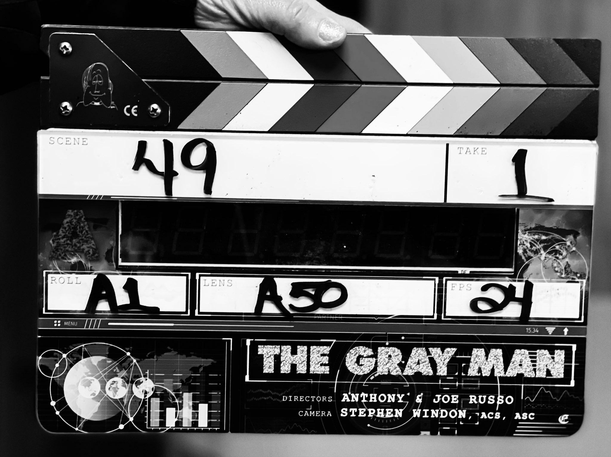 Irmãos Russo anunciam começo das filmagens de The Gray Man