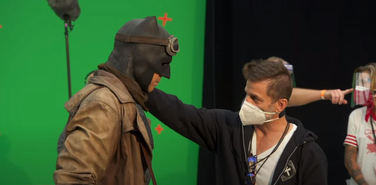 Snyder Cut recebe vídeo mostrando os bastidores do novo filme da Liga da Justiça