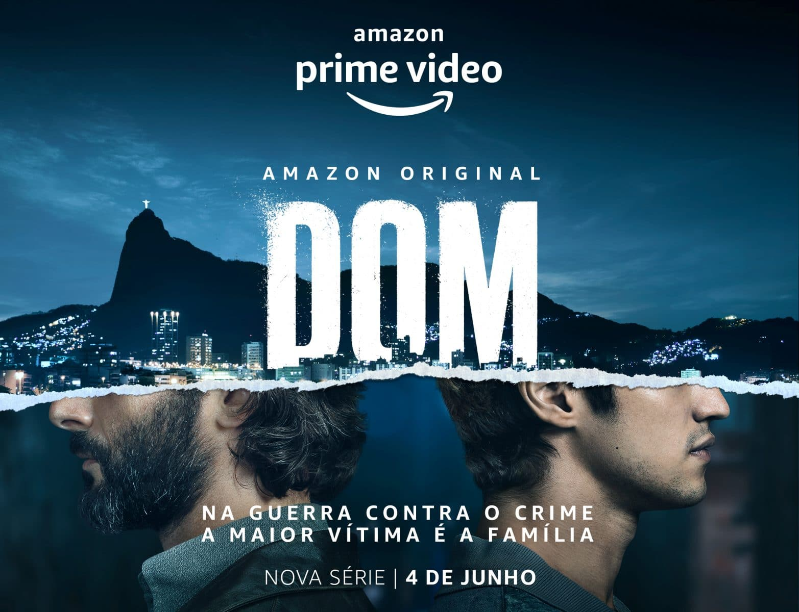Amazon Prime Video anuncia data de estreia da série nacional DOM
