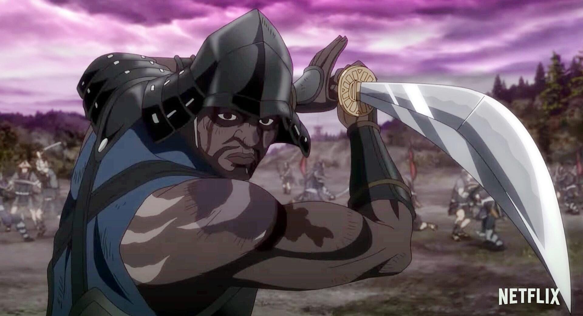 Netflix divulga trailer do anime Yasuke