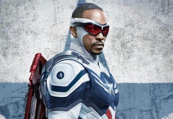 Capitão América de Sam Wilson é destaque de pôster de Falcão e o Soldado Invernal
