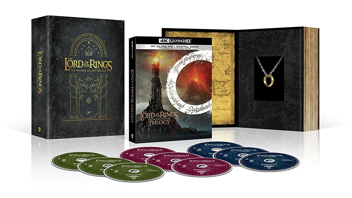 Trilogia Senhor dos Anéis ganha versão em Blu-Ray 4K nos EUA, veja o trailer