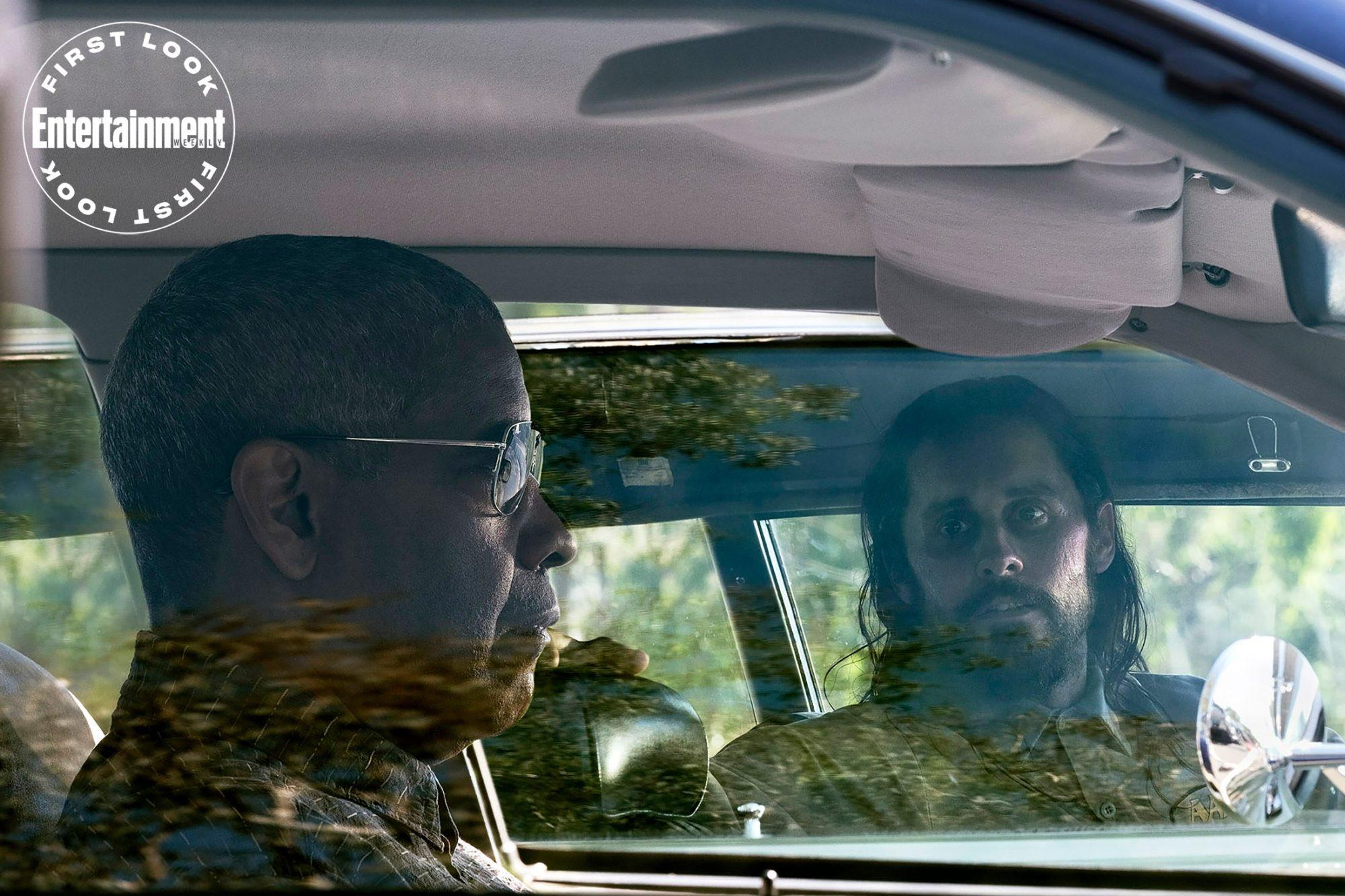 Denzel Washington e Jared Leto aparecem na primeira imagem de The Little Things