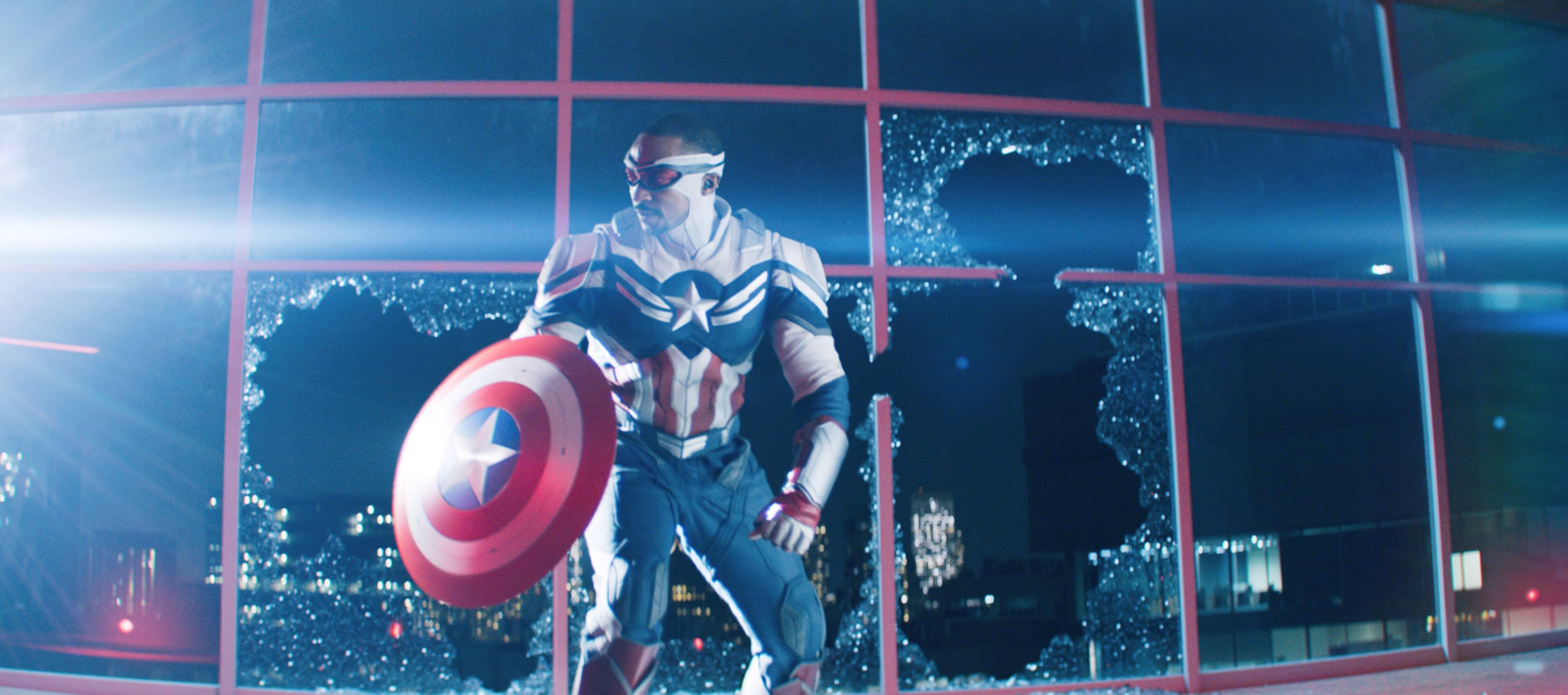 Marvel divulga oficialmente cena de Sam Wilson virando o Capitão América