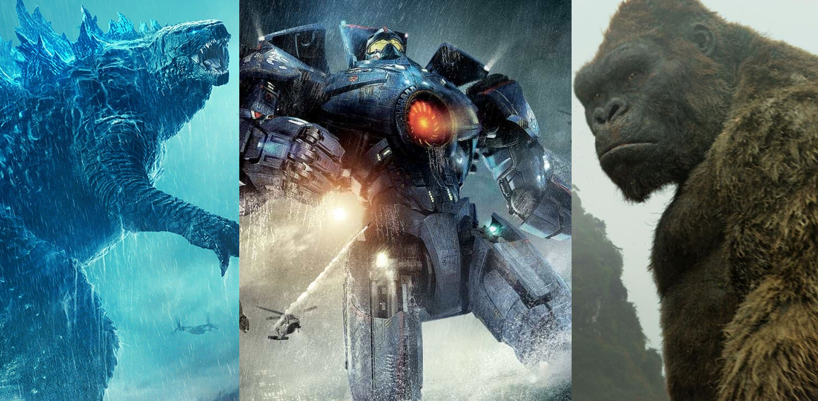 Guillermo Del Toro sonha com crossover de Círculo de Fogo e Godzilla vs. Kong