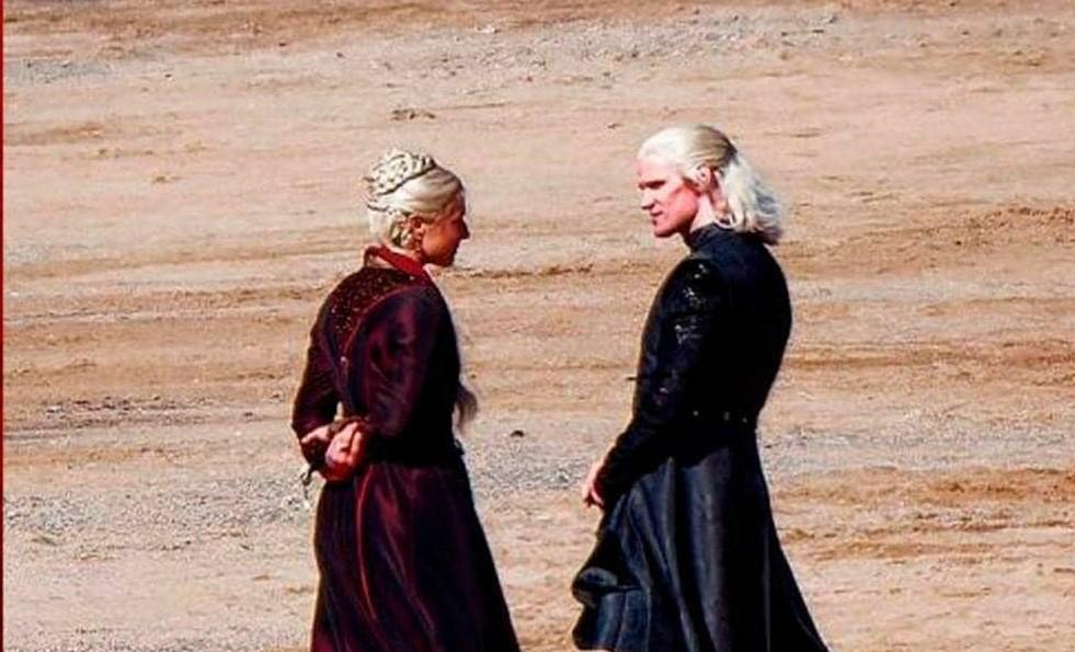 House of The Dragon   Veja as primeiras fotos do set do spinoff de Game of Thrones