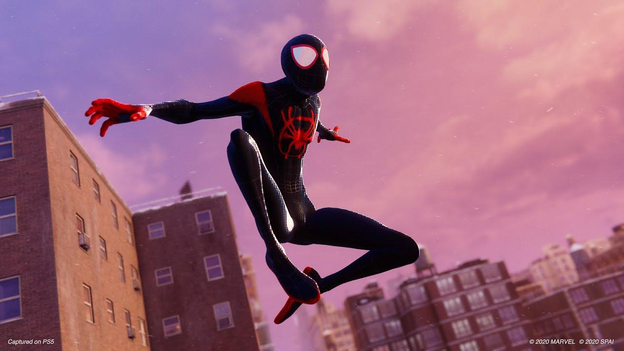 Roupa de Aranha-Verso estará em Spider-Man: Miles Morales para PlayStation