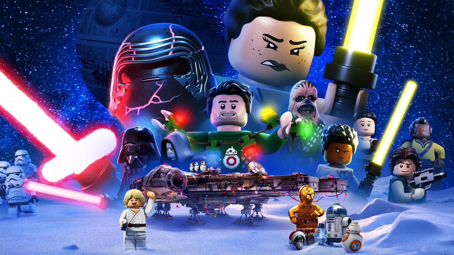 Veja o trailer do especial de Natal de LEGO Star Wars