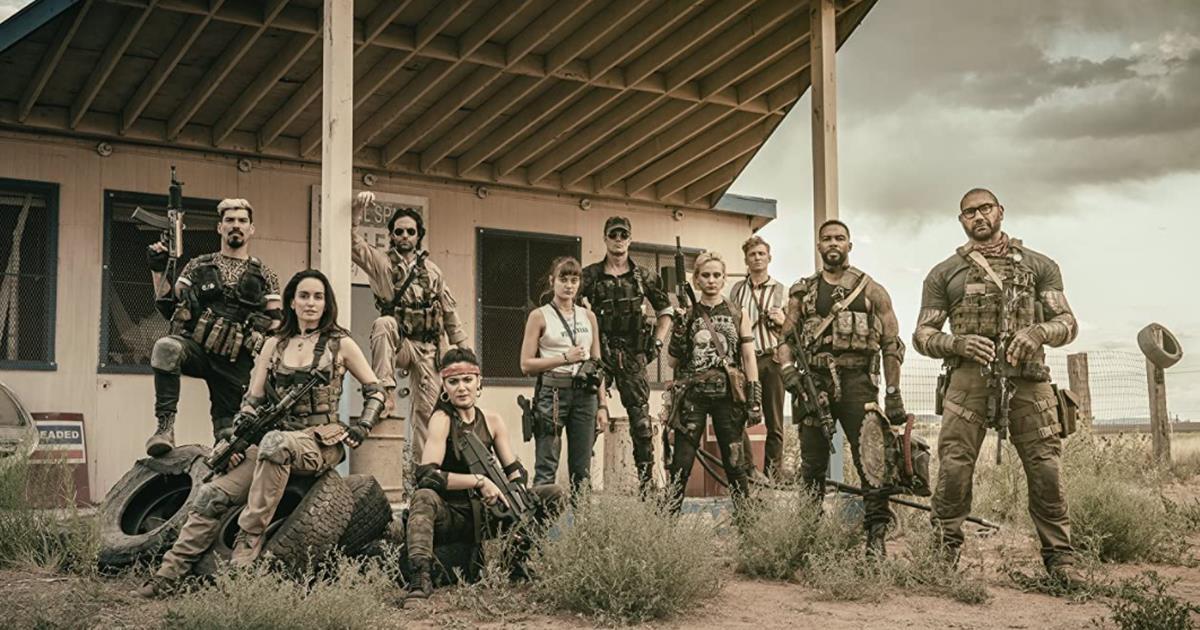 Army of the Dead de Zack Snyder recebe classificação indicativa para adultos