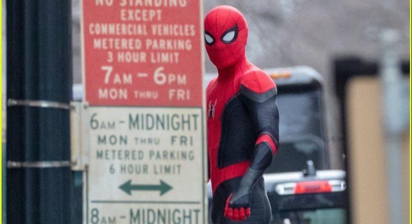 Novas fotos do set de Homem-Aranha 3 são reveladas