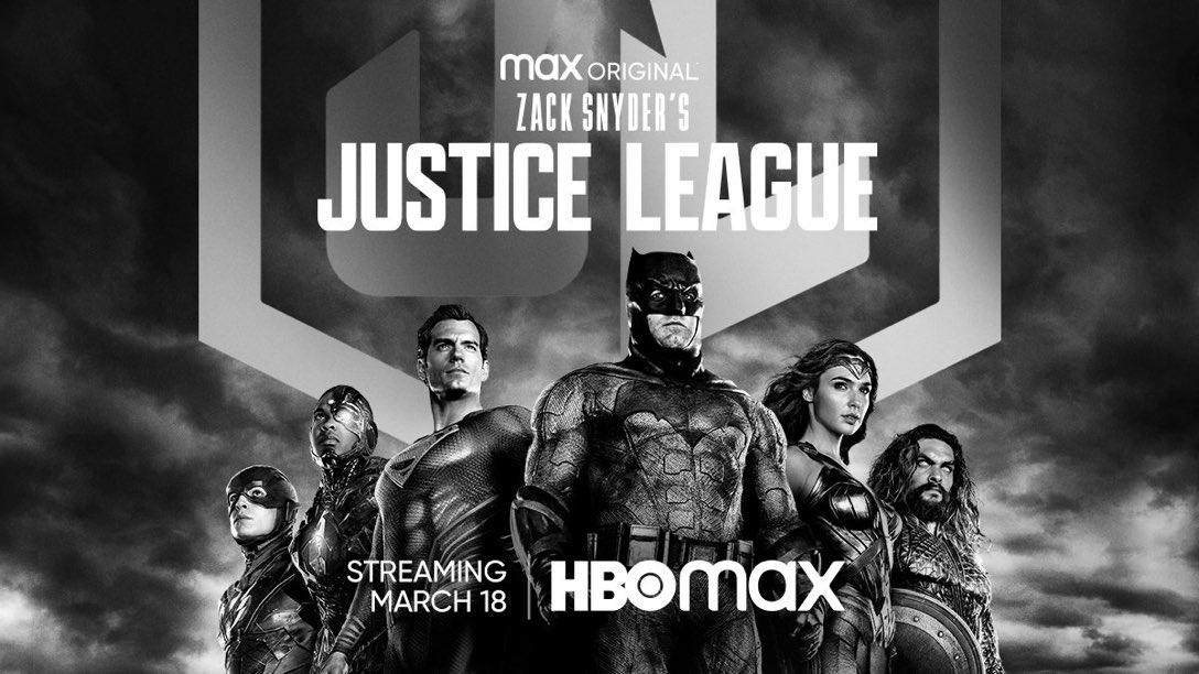 Liga da Justiça de Zack Snyder reúne os heróis em novo pôster