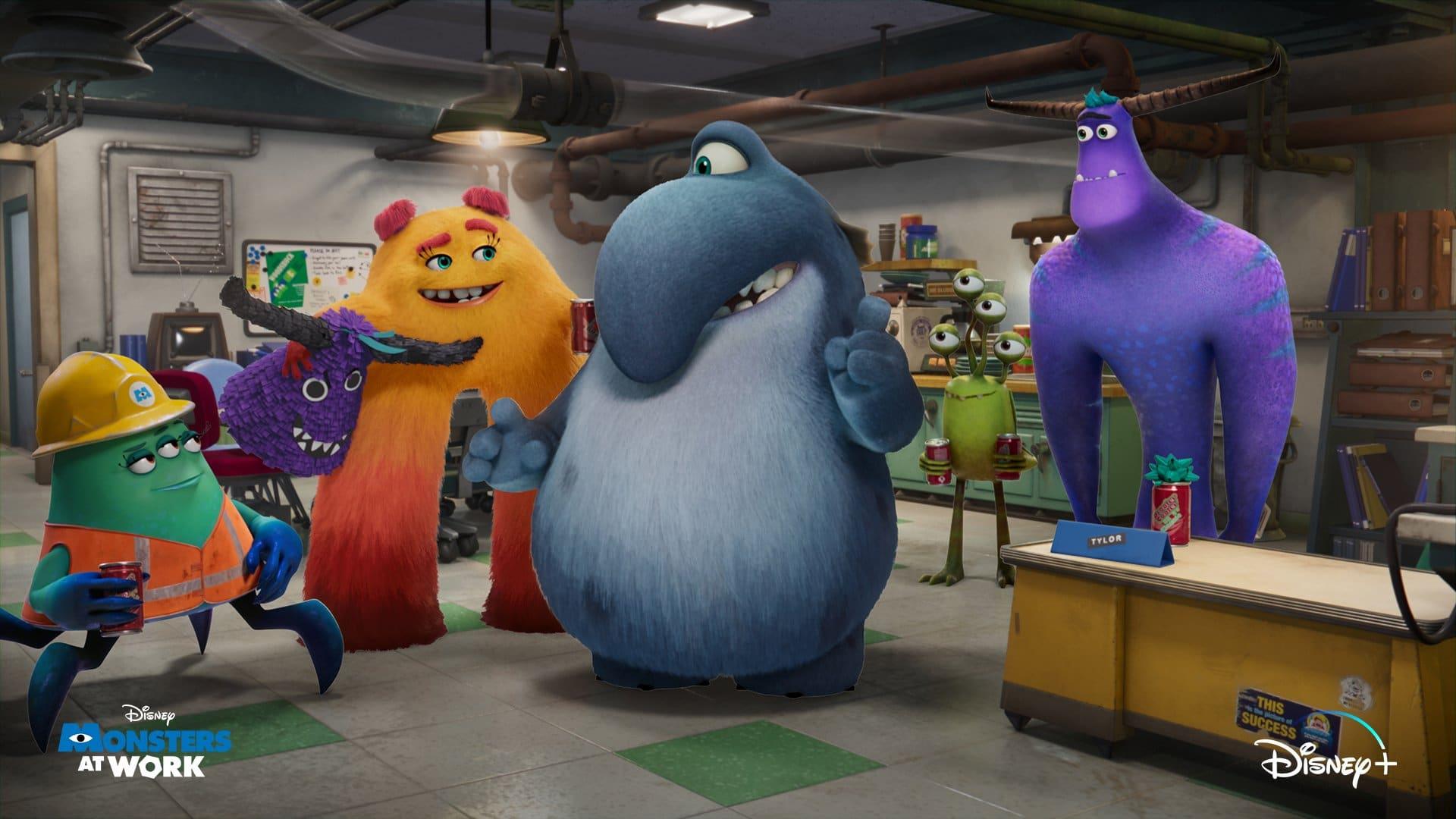Monsters At Work, série de Monstros S.A., ganha imagem exclusiva
